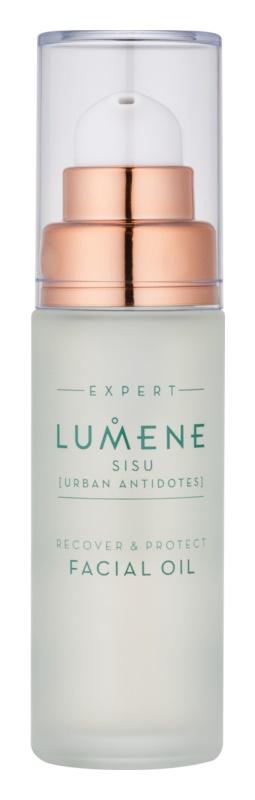 Lumene Sisu [Urban Antidotes] Erneuerndes und schützendes Serum für normale und trockene Haut